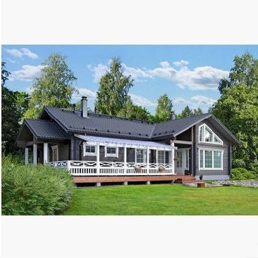 欧式木制结构整体小木屋别墅